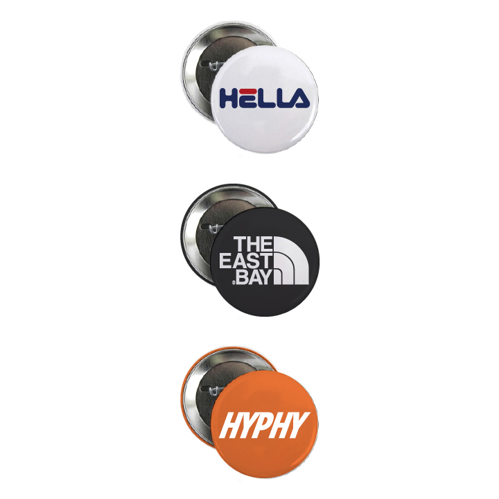 The Bay Button Pack – Kinfoak b8924e3f31dc