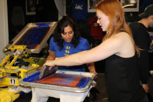 learn how to screen print oakland
