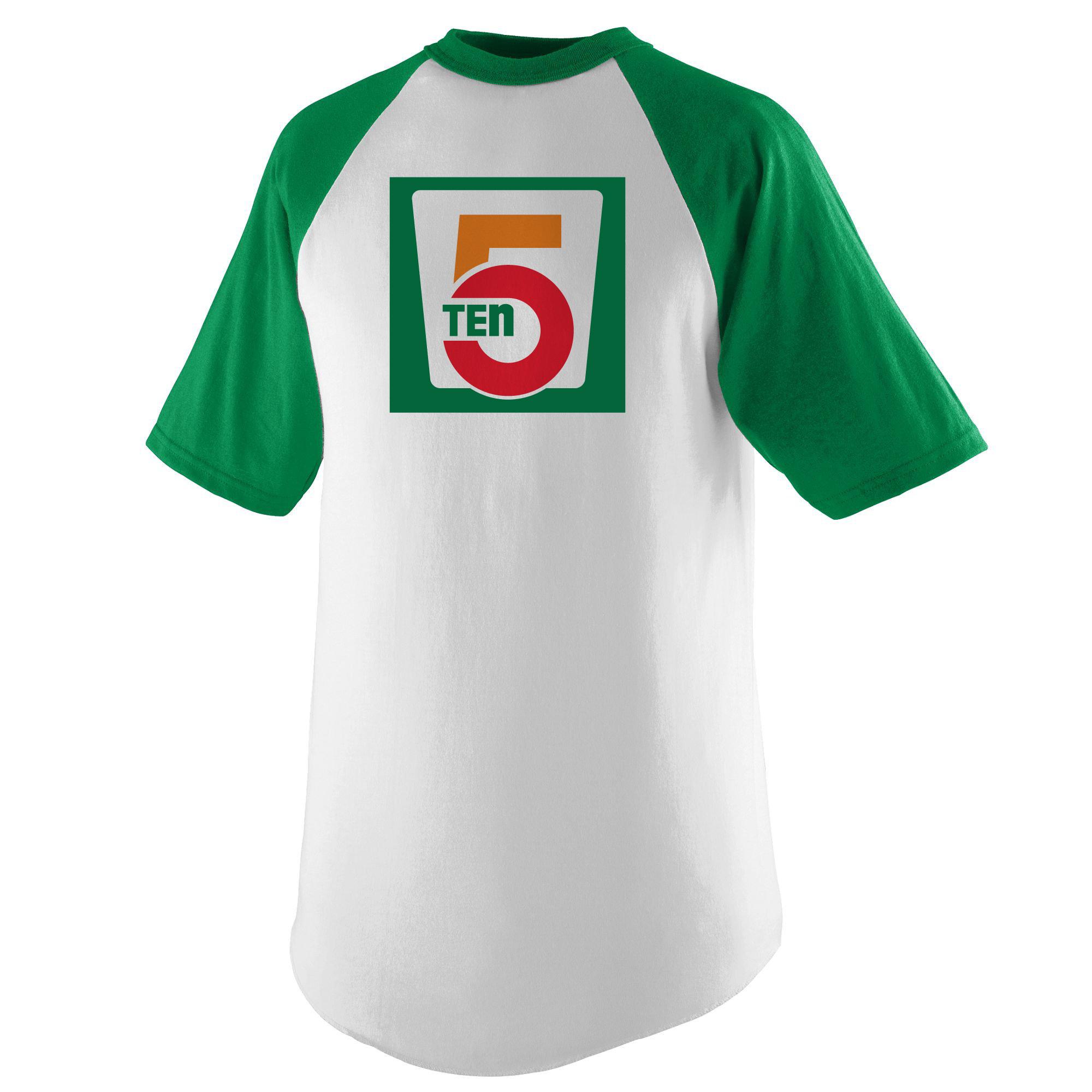 5 Ten Short Sleeve Baseball T-Shirt - Kinfoak 09726e935d01