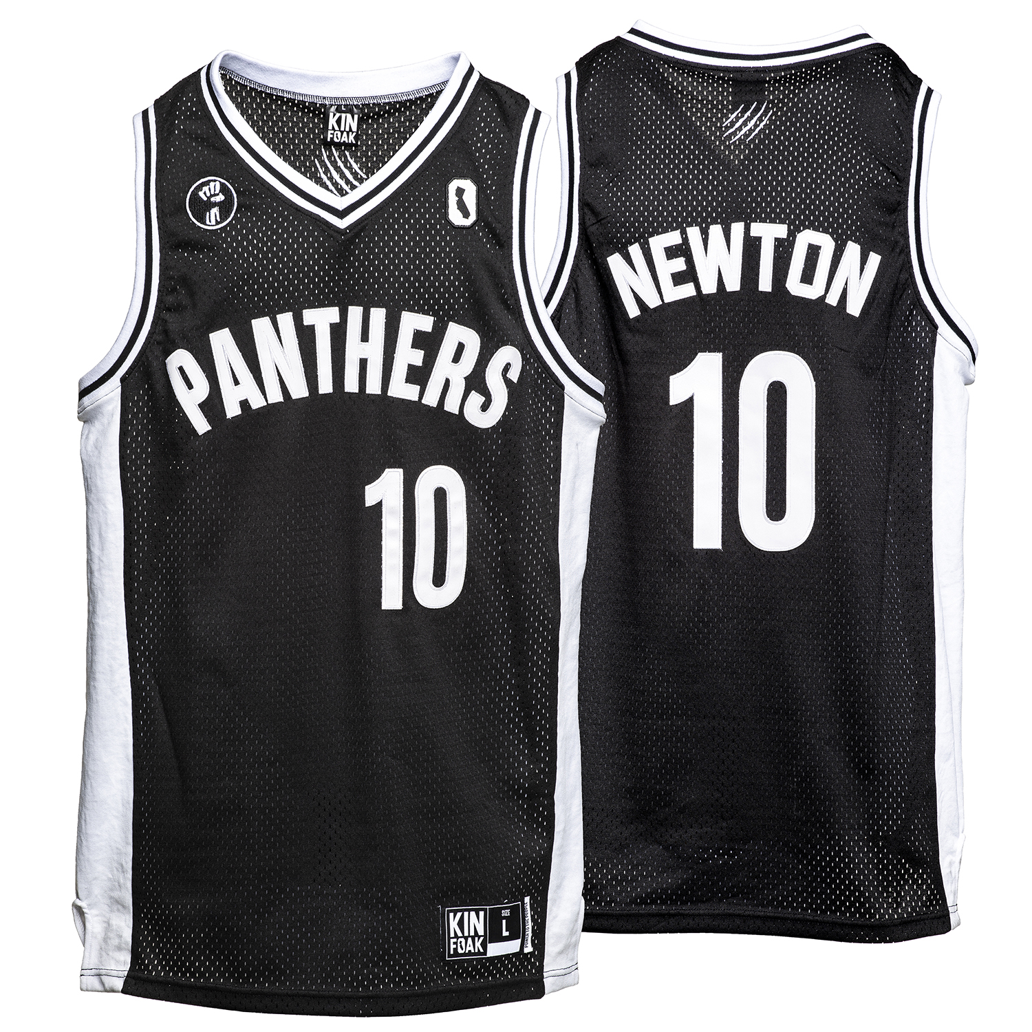 info for d4695 fb734 Huey Newton Basketball Jersey