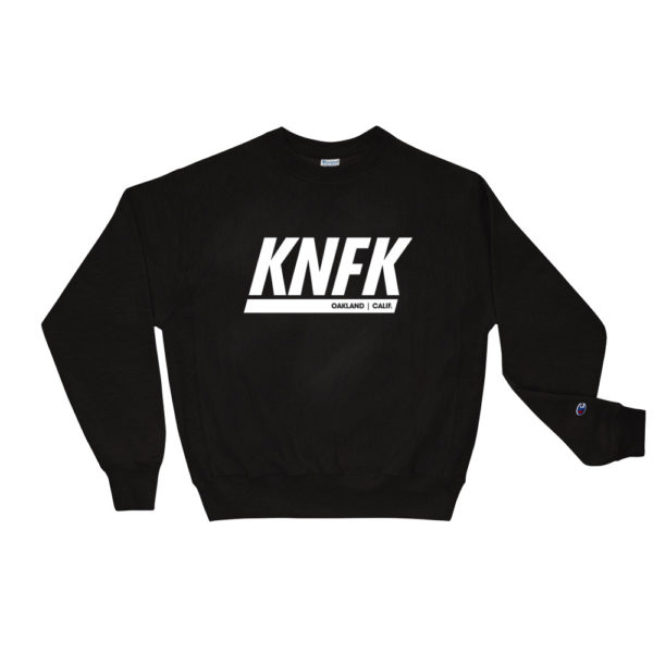 Black Kinfoak Champion Sweatshirt