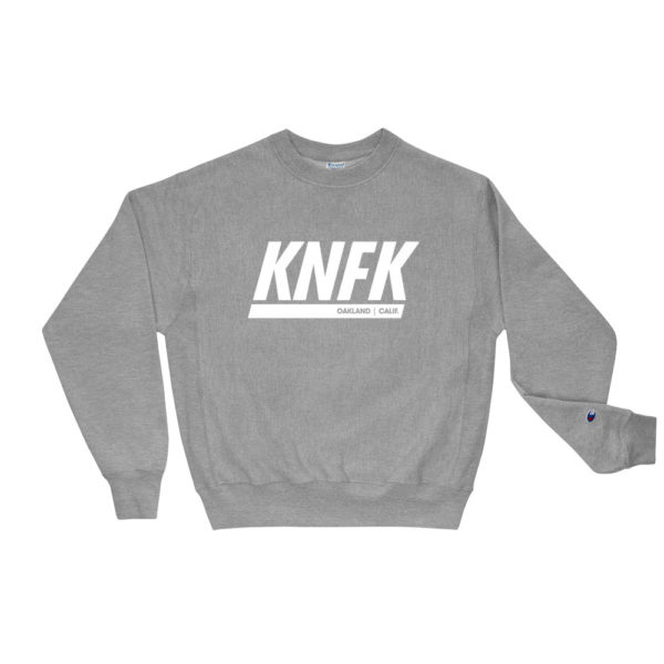 Heather Grey Kinfoak Champion Sweatshirt
