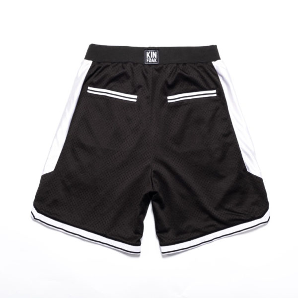 Oakland Basketball Shorts Back